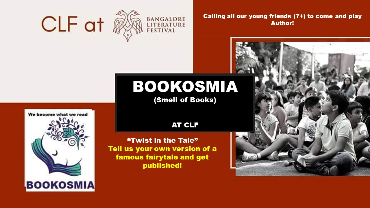 "Bookosmia's event ""Twist in the Tale"" at Bangalore Lit Fest on Sunday, 10th Nov"