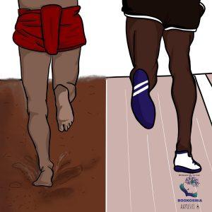 Saras corner Srinivasa Gowda and Usain Bolt kambala