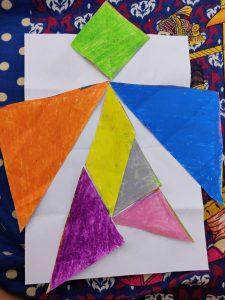 Tangram King Activities with Sara Bookosmia