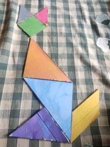 Tangram Activities for kids with Sara Bookosmia
