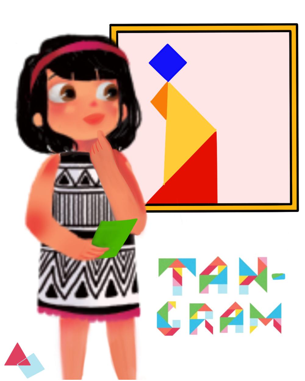 Tangrams with Sara