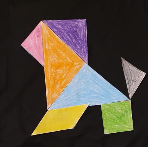 #Sara'sActivities: Tangram# 11- A clever fox