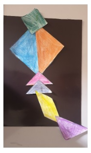 Sara's Activities: Tangram # 13- Princess Faye and the Kite