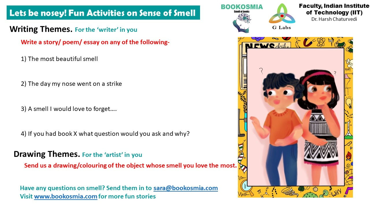 #ScienceIsForEveryone: Hey nose, what's going on! Understanding Smell with Sara and Ditto