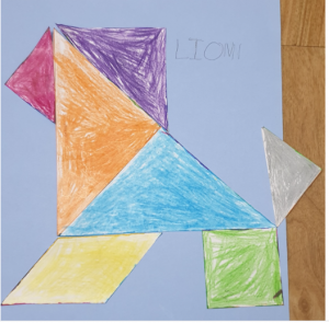 #Sara'sActivities Tangram STEM for kids stories for kids Bookosmia