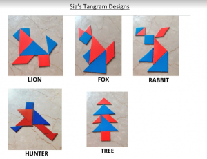 Sara's Activites Tangram STEM for kids