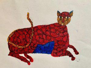 Art with Sara Aayat London Bookosmia