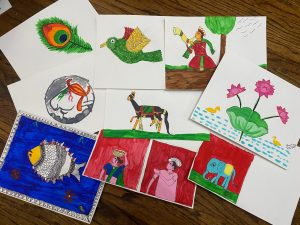 Art with Sara San Jose California Bookoosmia