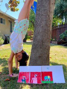 Art with Sara Khushee San Jose Bookosmia
