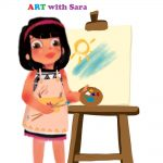 Sara's Art activities for kids Bokoosmia