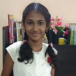 Sara reads stories for kids by young writers Ritika Chennai Bookosmia