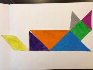 sara's activities cat tangram