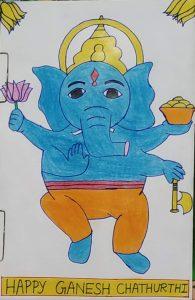Ganesh Art with Sara Bookosmia
