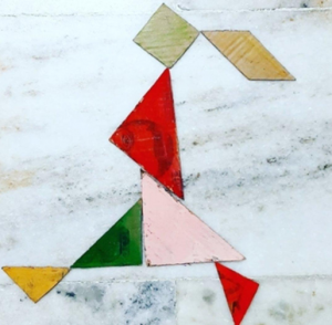Girl Tangram with Sara Bookosmia