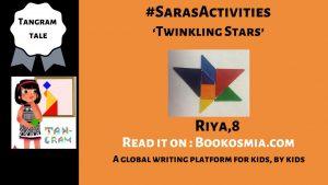 Tangram with Sara activities for kids Riya