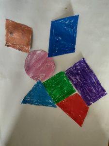 Mouse Tangrams with Sara activites for kid Bookosmia