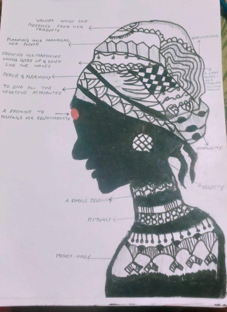 Art with Sara A Bride Woman Samaira Bookosmia