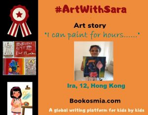Art with Sara I can paint for hours Ira Hong Kong Bookosmia