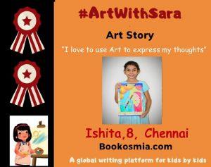 Art with Sara Ishita Chennai Bookosmia