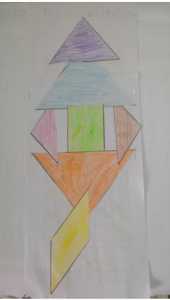 Lantern Tangram stories with Sara activities for kids by Bookosmia