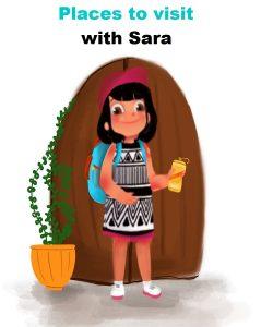 Activities with Sara Places to visit Bookosmia