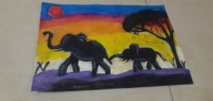 Art with Sara for kids Bookosmia