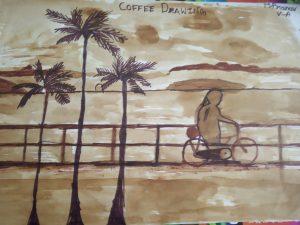 Art with Sara Coffee Drawing Bookosmia