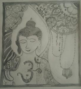 Art with Sara Buddha Doodle Bookosmia