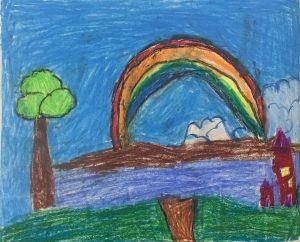 Art with Sara Rainbow Bookosmia