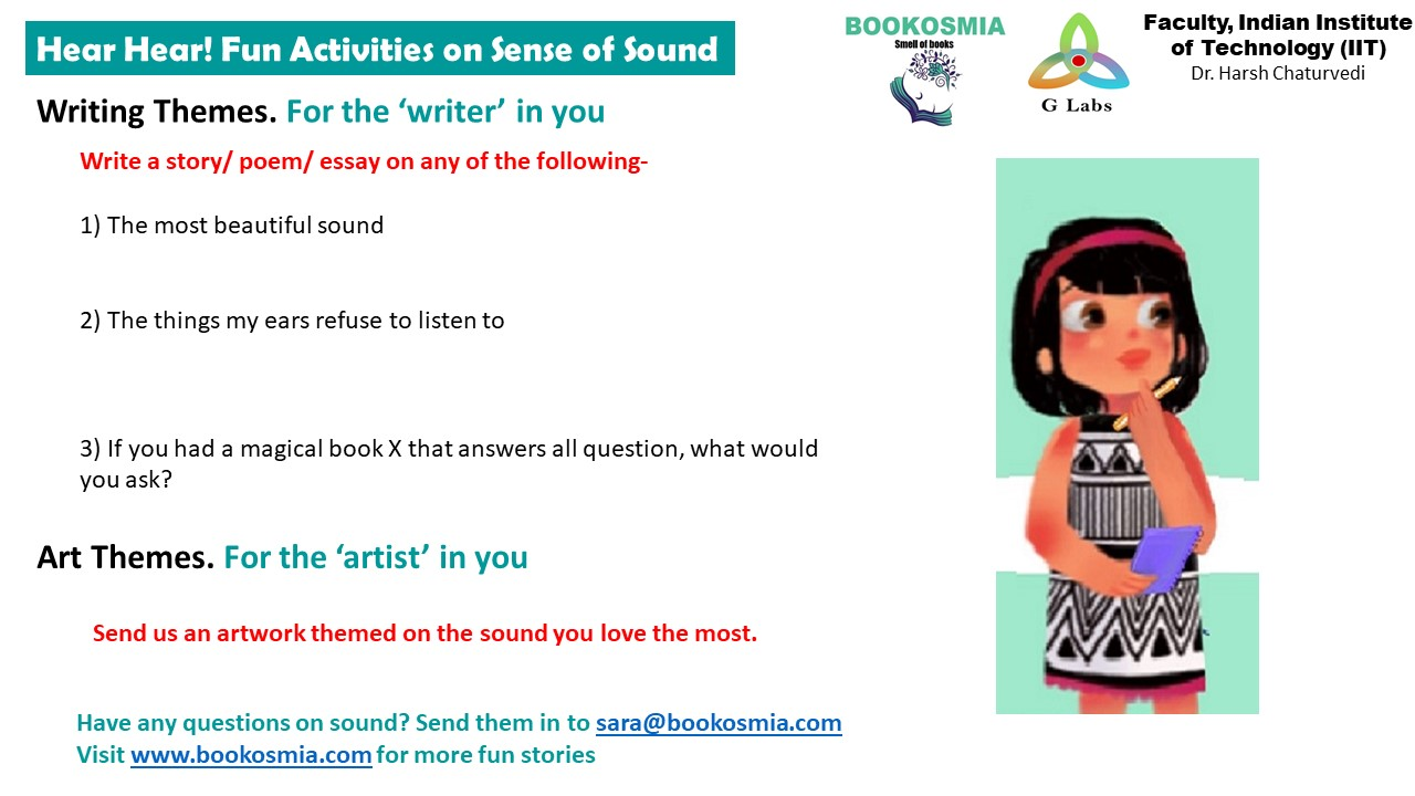 #ScienceIsForEveryone: Pssst Ears, what's buzzing! Understanding Sound with Sara and Ditto