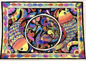 Art with Sara Madhubani Bookosmia