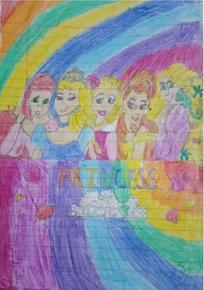 Art with Sara princess art for kids by kids Bookosmia