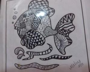 Art with Sara doodle by kids Bookosmia