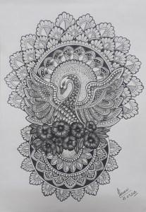Mandala Art with Sara by kids for kids Bookosmia