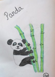 Art with Sara by kids for kids Panda Bookosmia