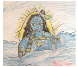Art with Sara Krishna music art by kids Bookosmia