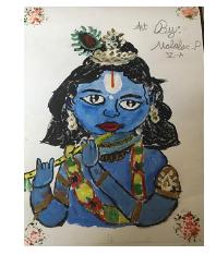 Art with Sara Krishna by kids Bookosmia