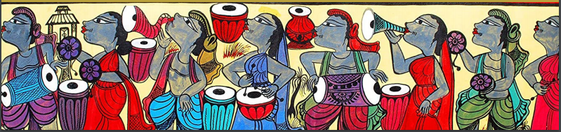Potachitra BEngali Art for Durga Pooja festivals with Sara by Bookosmia