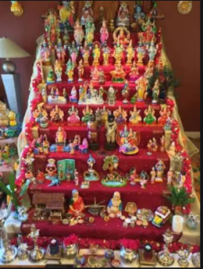 golu navratri festivals with Sara Bookosmia