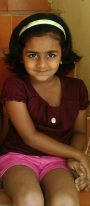P.V.Keerthi Sanjana, 9, Chennai