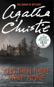 And then there were none Agatha Christie Book Review by kids Bookosmia