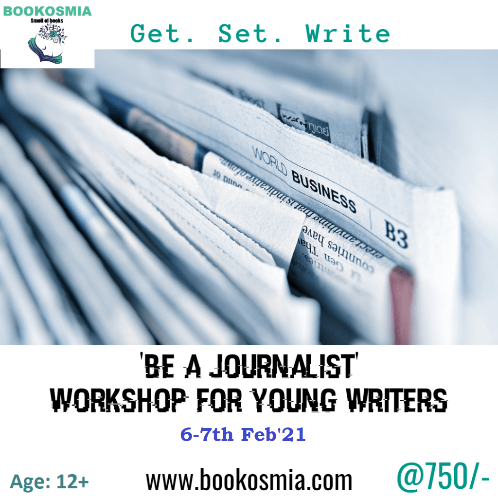 Be a Journalist Workshop (10+)