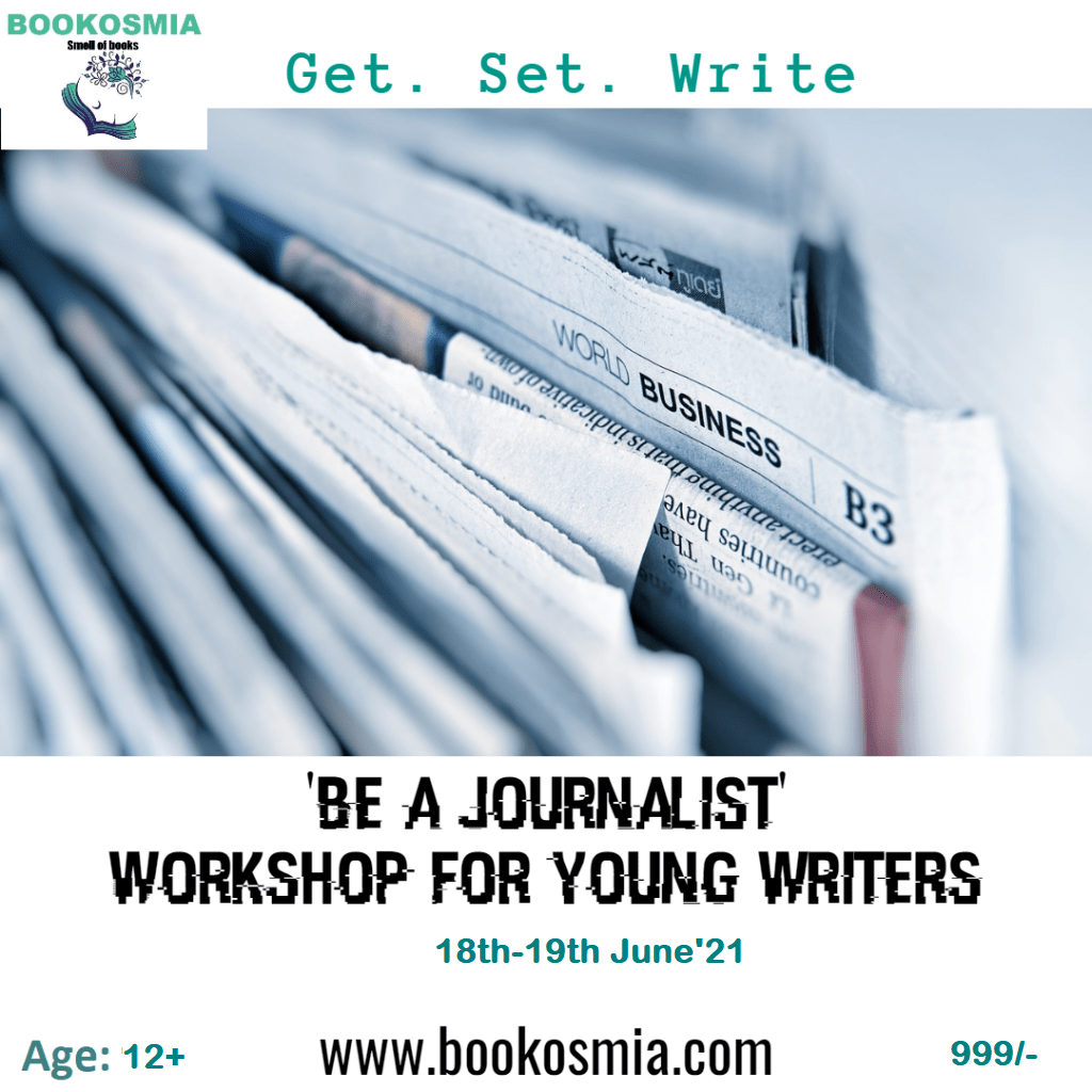 Be a Journalist Workshop for Age 12+