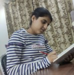Read poem on books with Sara Guneev from Jalandhar Bookosmia