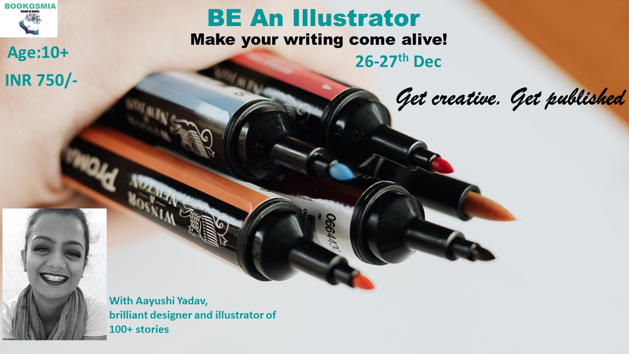 'Be an Illustrator' Senior's Workshop (10+)