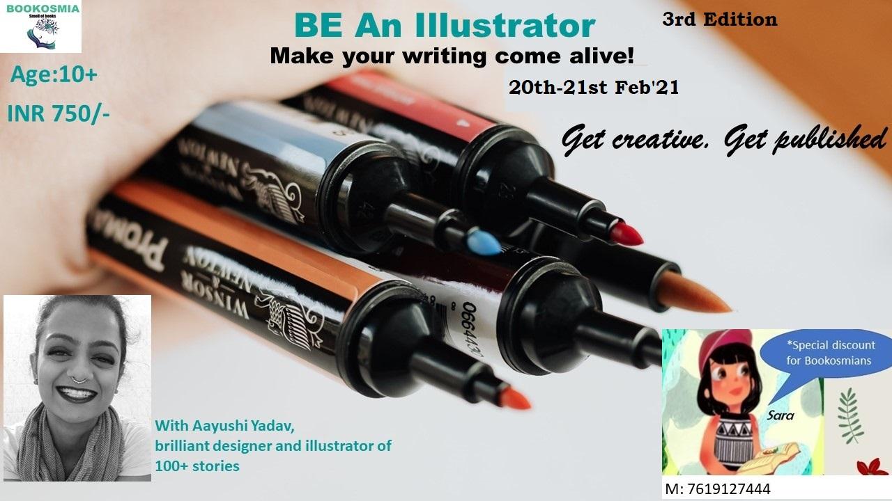 'Be an Illustrator' Senior's Workshop (10+)