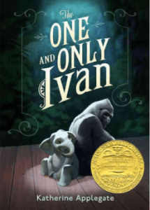 The One and Only Ivan Book Review by Kids with Sara Bookosmia