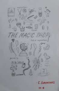 doodle of the magic shop book review by kids Bookosmia