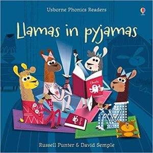 Llamas in pyjamas Usborne Book Review By kids Kolkata Bookosmian