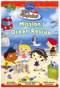 Mission Ocean Rescue Little Einsteins Book Review Bookosmia
